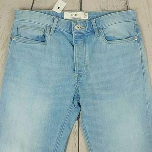Men's Topman Slim Blue Jeans 32/32